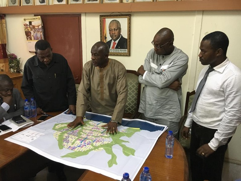 Ningo-Prampram approves Accra's planned city extension