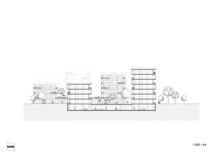 Healthy, high-density neighbourhood
